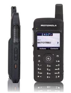 Motorola SL 7550e Slim Line Portable Two-Way Radio
